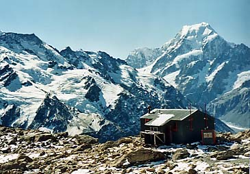 Mueller Hut and Mt.Cook